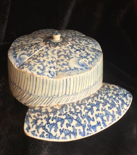 青衣系列——青花瓷帽子